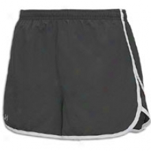 "Under Armour Escape 3"" Short - Womens - Black/white/reflective"