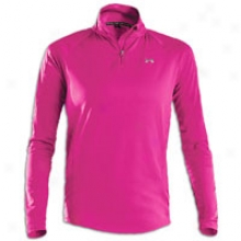 Under Armour Escape Ltwt 1/4 Zip - Womens - Rush/high-vis Yellow/reflective Silver