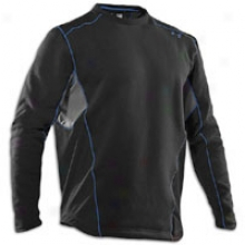 Under Armour Extreme Coldgear Fitted Crew Ii - Mens - Black/lightning