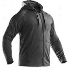 Under Armour Fleece Full Zip Hoodie - Mens - Black