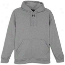 Under Armour Clip Team Hoodie - Mens - Medium Grey Heather/black