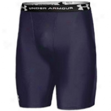 Under Armour Heatgear Compression Short - Mens - Midnight Navy