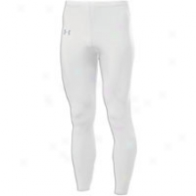 Under Armour Heatgear Leggings - Mens - White