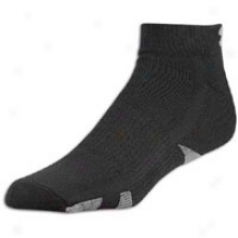 Under Armour Heatgear Lo Cut 4 Pack Socks - Mens - Black