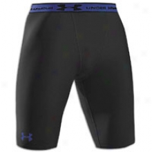 Under Armour Hdatgear Long Compression Short - Mens - Black/royal