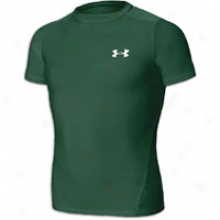 Under Armour Heatgear S/s T-shirt - Big Kids - Forest