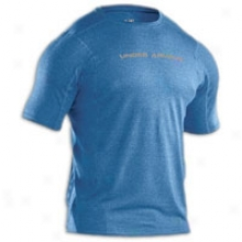 Under Armour Heatgear Touch Fitted S/s Company - Mens - Carolina Blue/charcoal