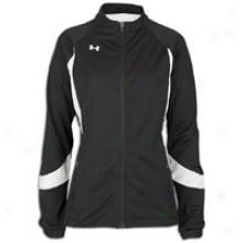 Under Armour Hype Jacket - Womens - Black/white/white