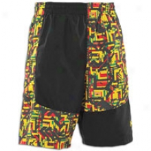 Under Armour Lacrosse Rasta Woven Short - Mens - Black/taxi