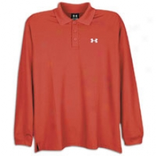 Under Armour L/s Team Performance Polo - Mens - Red