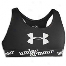 Under Armour Ensnare Bra - Big Kids - Black/white