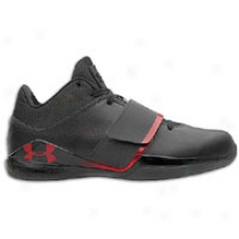 Under Armour Micro G Bloodline - Mens - Black/black/red