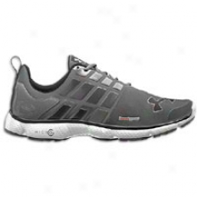Under Armour Micro G Split - Mens - Steel/white/black