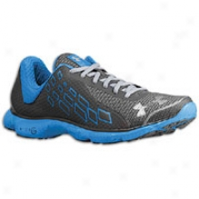 Under Armour Micro G Stealth Ii - Mens - Blue Taro/graphite/metallic Silver
