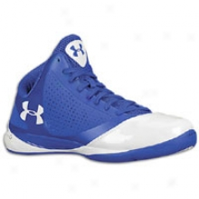 Under Armour Micro G Supersonic - Mens - Royal Blue/royal Blue/white