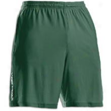 Under Armour Microshort Ii - Mens - Forest Green/white