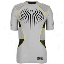 Under Armour Mpz 5 Pad Impact Top - Mens - Steel/black/taxi