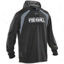 Under Armour Nfl Combine Warp Speed Hoodie - Mens - Black/steel