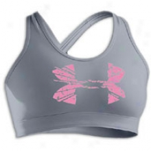 Under Armour Original 3 A/b Bra - W0mens - Steel/fluo Pink