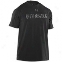 Under Armor Outhustle T-shirt - Mens - Black