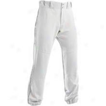 Under Arnour Oxhead Piped Pant - Mens - White/black