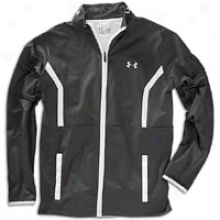 Under Armour Performance Warm-up Jacket - Mens - Black/white