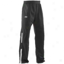 While burdened with Armour Performance Warm-up Pant - Mens - Black/white