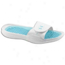 Under Armour Playmaker Iv Slide - Womens - White/break/tobago