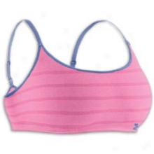 Under Armour Seamless Bralette - Womens - Fluo Pink/mirror