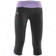 Under Armour Shatter Capri - Womens - Black/celebrate