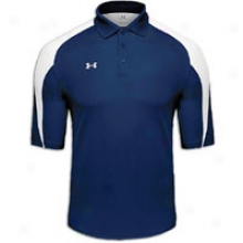 Under Armour Sideline Polo - Mens - Midnight/white