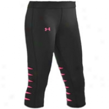 Under Armour Slash Capri - Womens - Black/neo Pulse