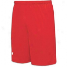 "Under Armour Staff 10"" Short - Mens - Red/red/white"