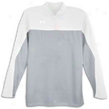 Under Armour Store Lottery L/s Shooters Shirt - Silver/white