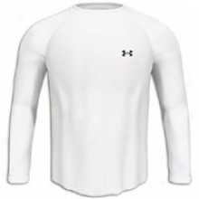 Under Armour Tech L/s T-shirt - Mens - White/black