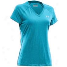 Under Armour Tech T-shirt - Womens - Capri