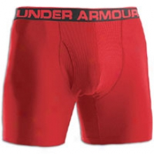 "Under Armour The Original 6"" Boxer Jock - Mens - Red/white"