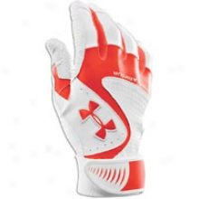 Under Armour Yard Vi Batting Gloves - Mens - Dark Orange/white