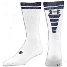 Under Armour Zagger Sock - Mens - White/midnight Navy