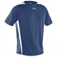 Under Armour Zone Iv S/s T-shirr - Mens - Midnight Navy/white