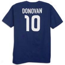 Usa Nike Hero T-shirt Donovan - Mens - College Navy