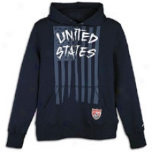 Usa Nike Usa Haters Motivate Core Hoodie - Mens - Obsidian/white
