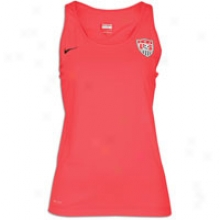 Usa Nike Usa Natioal Team Hypercool Tank - Womens - Sport Red/black/black