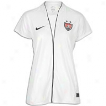 Usa Nike Wm Usa National Team Replica Jeesey - Womens - Football White/obsidian/obsidian