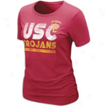 Usc Nike College Warm Day T-shirt - Womens - Varsity Crimson