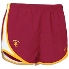 Usc Nike College Tempo Short - Womens - Red-vatdity Crimson
