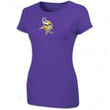 Vikings Nlf Game Time T-shirt - Womens - Regal Purple