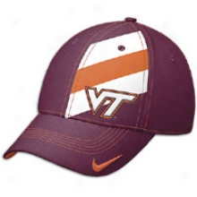 Virginia Tech Nike College Dri-fit Players Swooshflex Cap - Mens - Dark Maroon