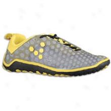 Vivobarefoot Evo - Mens - Grey/yellow