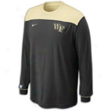 Wake Forest Nike College On-court Shooting Shirt - Mens - Black